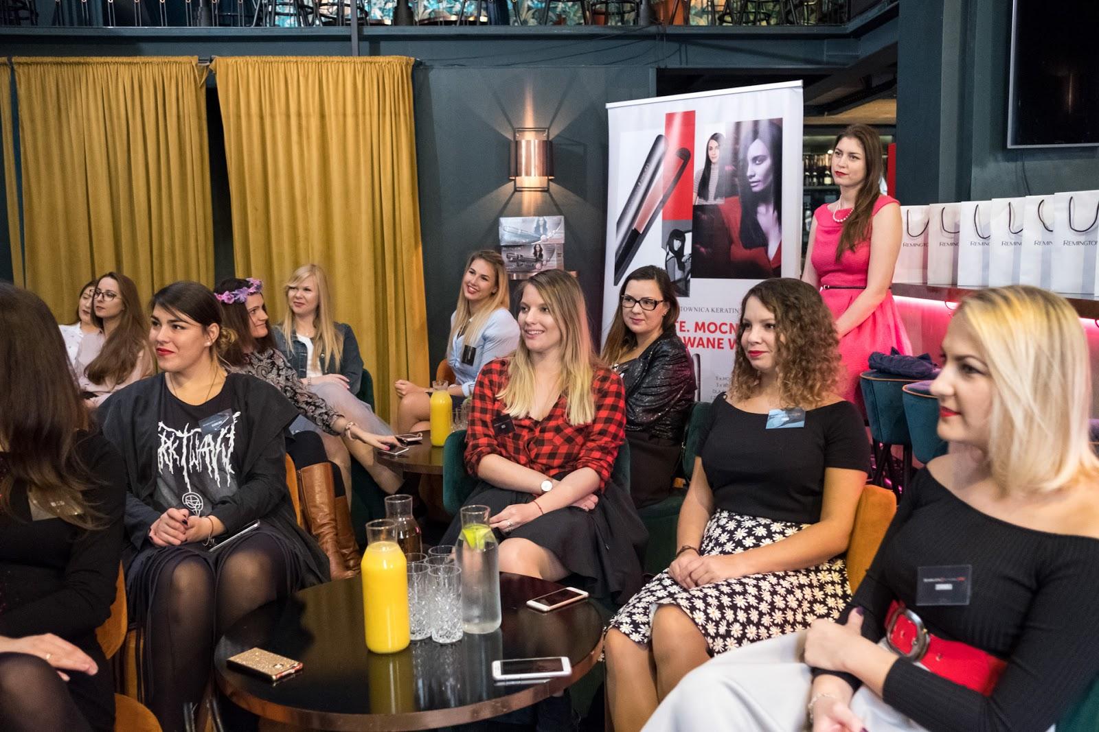 remington ritual party spotkanie blogerek produkty remington opinie jakość lokówka prostownica hair keratin protect klub ritual club coctail bar warszawa  salestube atelier agata szpejna opini