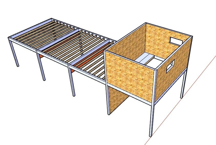 Trik Rumah Burung Walet Bangunan Rbw 4 X 12 X 3 Lantai