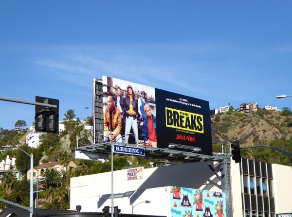 The Breaks movie billboard
