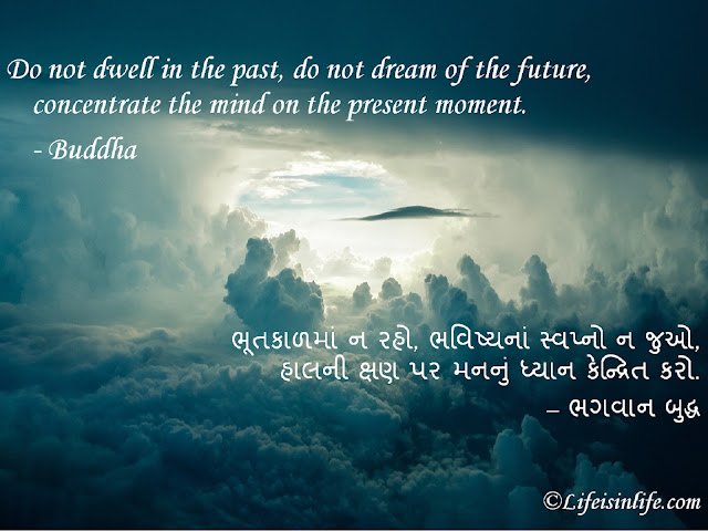motivational quotes gujarati images-Do not dwell in the past, do not dream of the future, concentrate the mind on the present moment. - Buddha