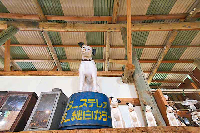 Nipper, RCA Victor, dog, statues