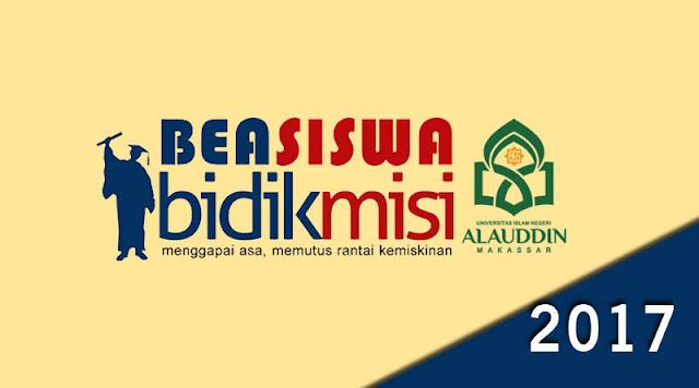 Bidikmisi UIN Alauddin Makassar 2017/2018