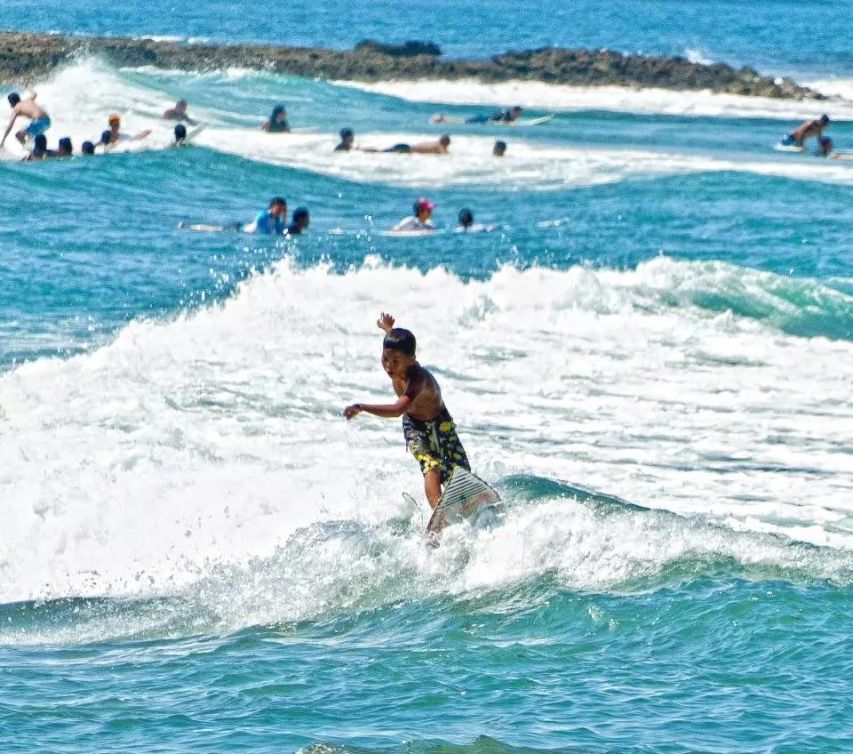 Surfer Kid San Juan La Union Region I Philippines