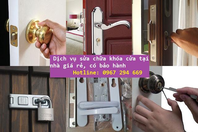 sửa chữa khóa cửa tại nhà giá rẻ