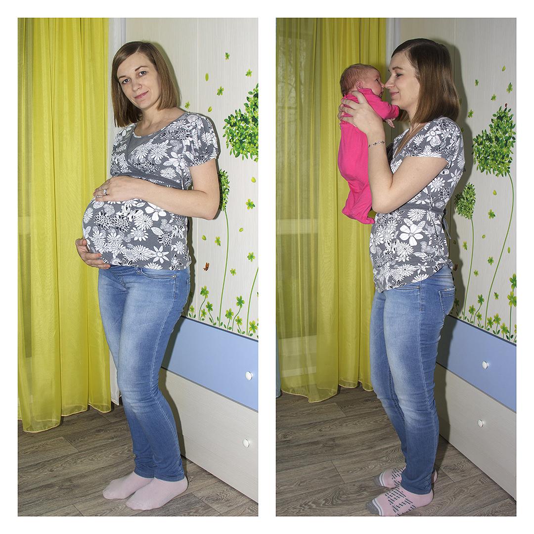 Сбросила вес на 30 неделе беременности