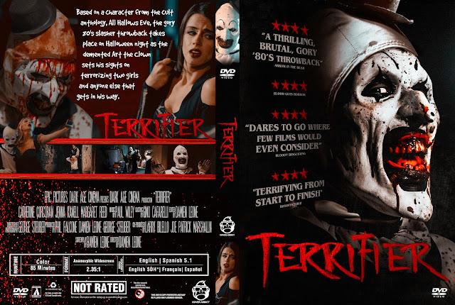 Terrifier DVD Cover