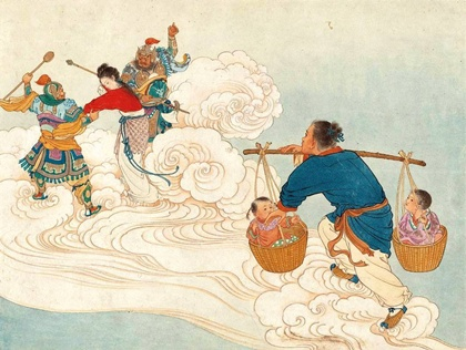 Qixi Festival - เทศกาลชีซี ตำนานหนุ่มเลี้ยงวัวกับสาวทอผ้า