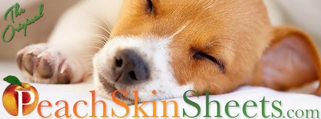 PeachSkingSheets dog