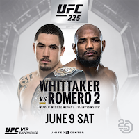 free fight whittaker romero ufc 225 fight pick