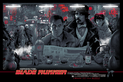 Blade Runner Movie Poster Variant Screen Print by Vance Kelly x Hero Complex Gallery