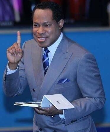 pastor chris oyakhilome woman under man
