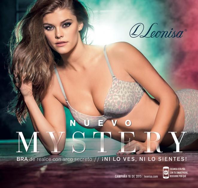 Nina Agdal – Leonisa Mistery 2015