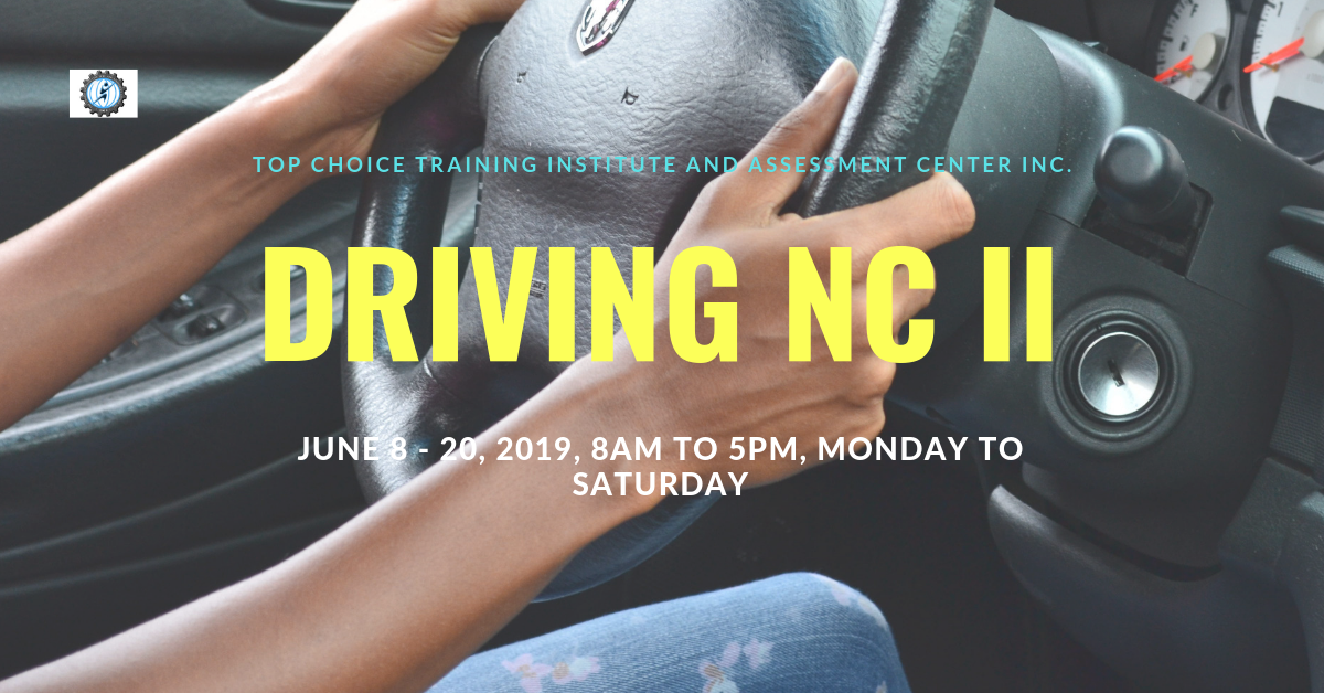 Driving NC II (FREE TRAINING) by TCTIACI