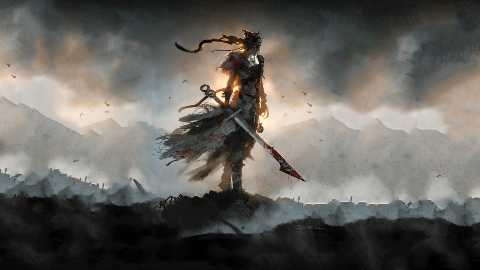 Hellblade ps4 game cool desktop wallpapers cool desktop for Wallpaper wallpaper wallpaper