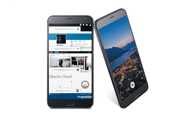 Ubuntu Phone Meizu PRO 5