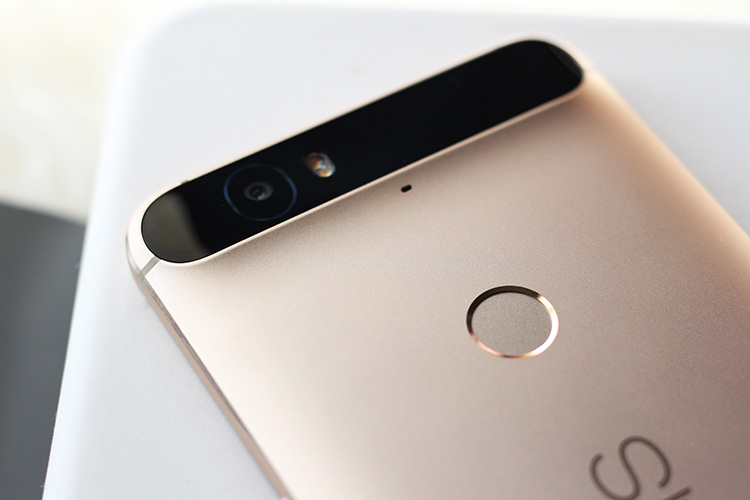 nexus 6p matte gold fingerprint sensor