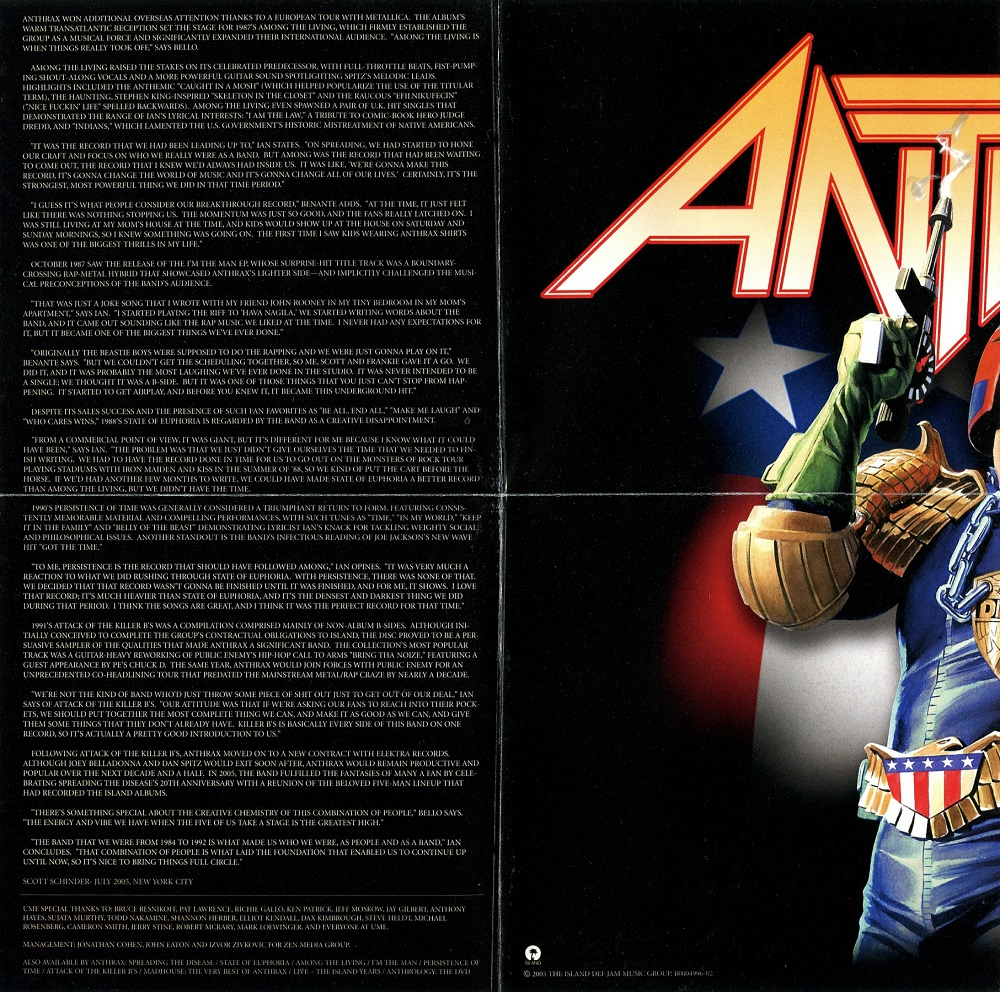 Cries from the Quiet World: Anthrax