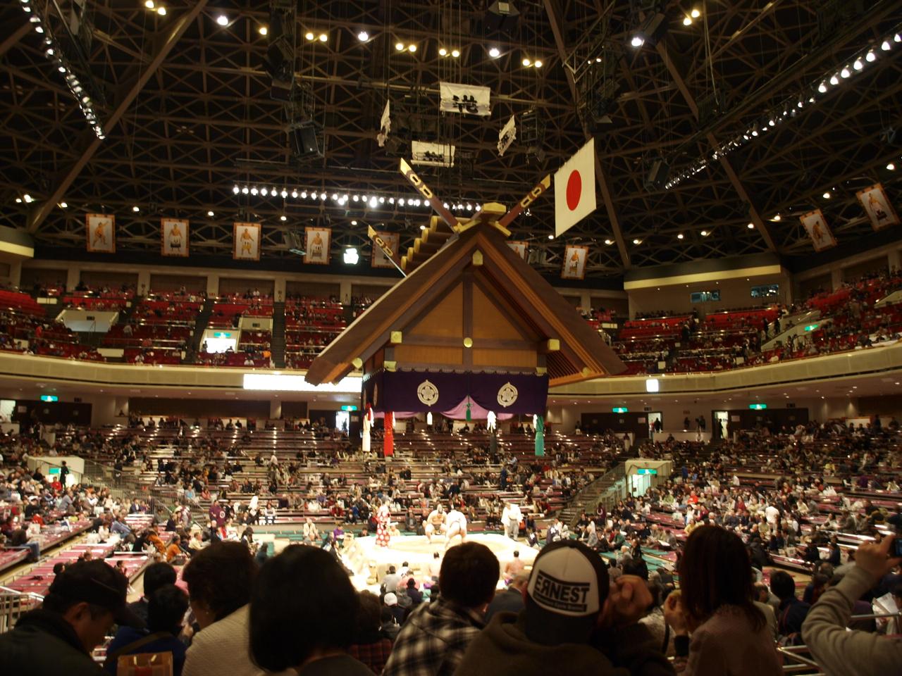旧式河童堂歳々ブログ: 大相撲初場所見物