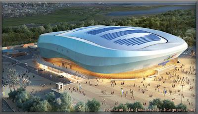 Lokasi-Lokasi Acara Sukan Gangneung Coastal Cluster - PyeongChang Olympic 2018