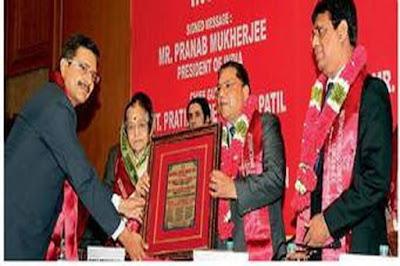 वरिष्ठ पुलिस अधिकारी मनीष शंकर शर्मा को 'नेशनल लॉ डे अवार्ड 2016' से सम्मानित किया गया
