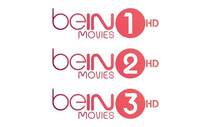 beIN Movies 1/2/3 HD - Es'Hail 25E