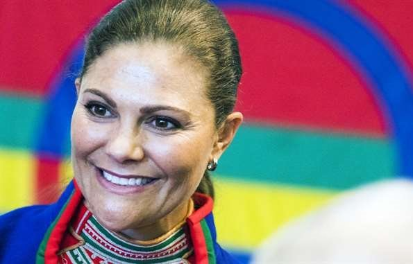 Crown Princess Victoria attended the ceremonial opening of the sixth session of the Sami Parliament at Kiruna Town Hall in Östersund