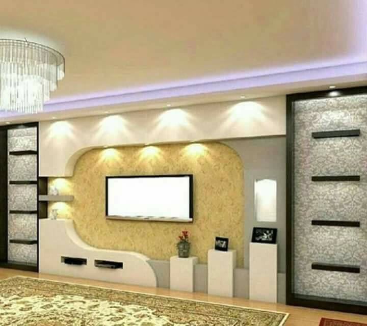 The Best Living Room Designs Modern TV Cabinet Wall Units - Decor Units