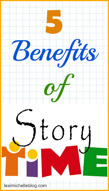 5 benefits of story time for kids under 3