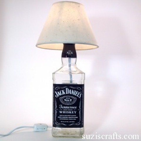 lamparas, botellas, manualidades, diys, decoración, reciclar