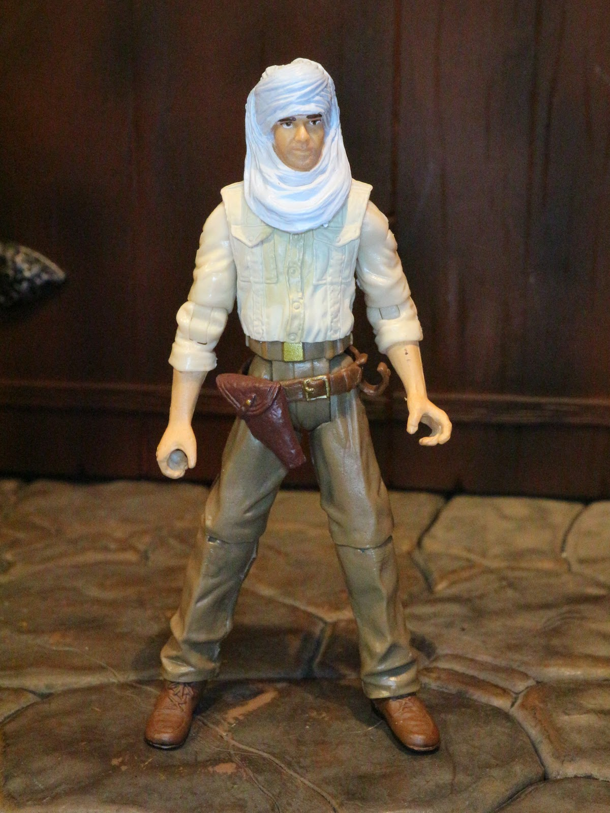 INDIANA JONES ACCESSORIES HARRISON FORD INDY BALL JOINTED HEAD FOR FIGURES