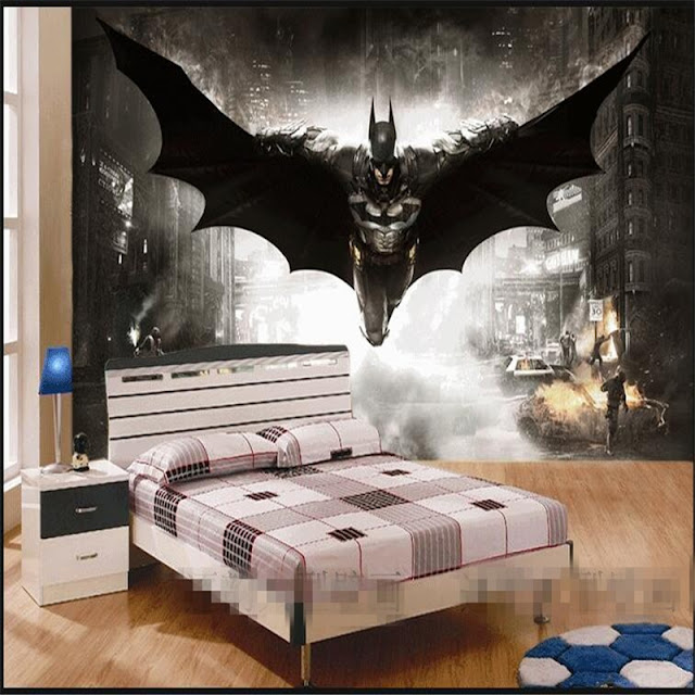 Wallmural.online: Batman wall mural