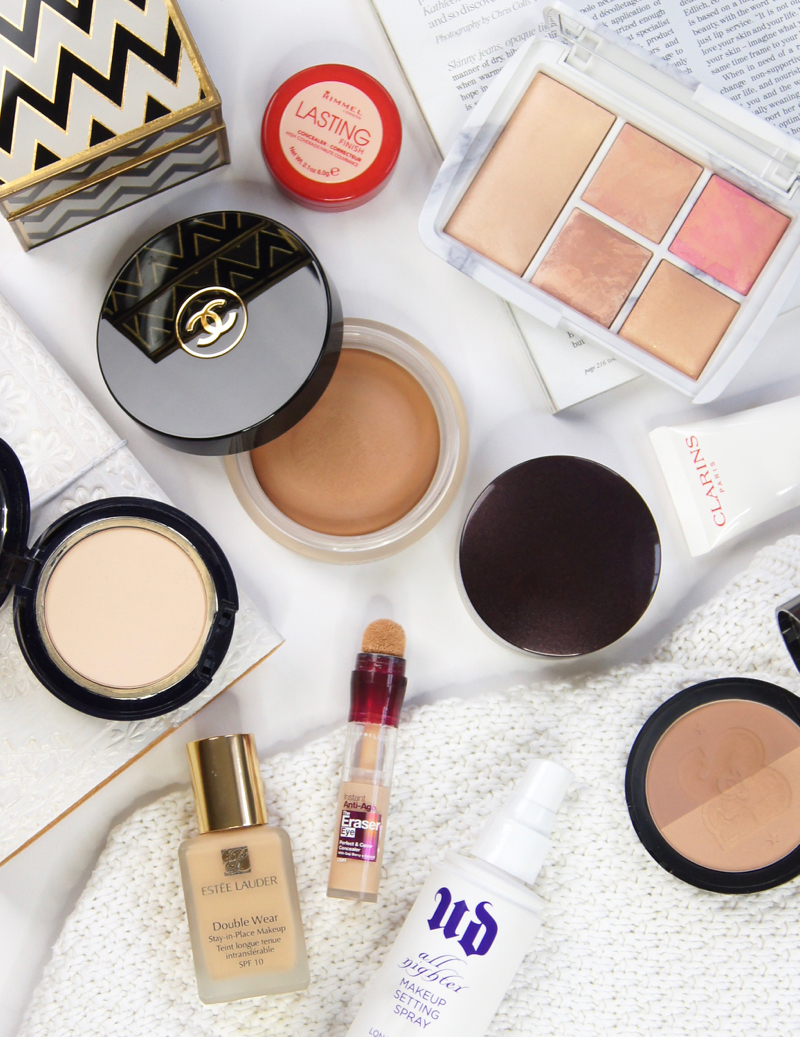2016 makeup favourites high street affordable high end beauty blogger clarins laura mercier chanel hourglass charlotte tilbury benefit YSL loreal by terry beauty blender soap and glory estee lauder maybelline rimmel