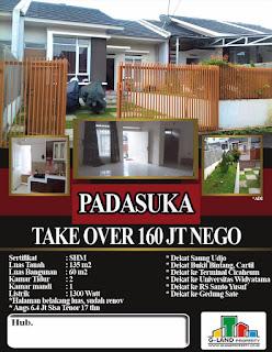 Rumah Take Over 160 JUTA Di Padasuka Dekat Cicaheum Antapani
