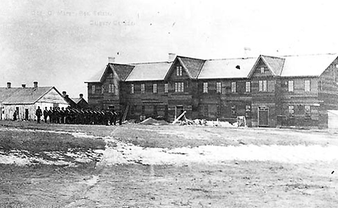 fort calgary archival images
