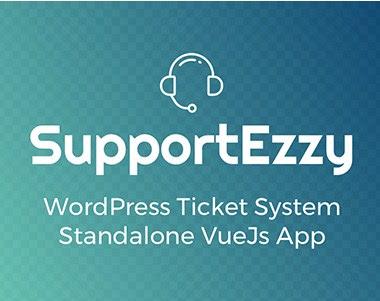 SupportEzzy v1.5.0 Wordpress Ticket System Plugin