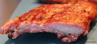 ribs, BBQ, dinner