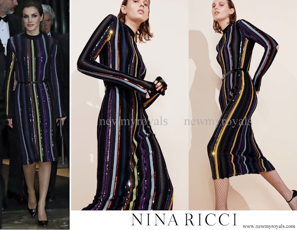 Queen Letizia wears Nina Ricci dress from Resort 2017 Collection