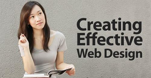 desain web yang efekstif