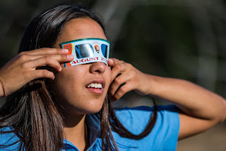 Will the Solar Eclipse be seen in theme parks?