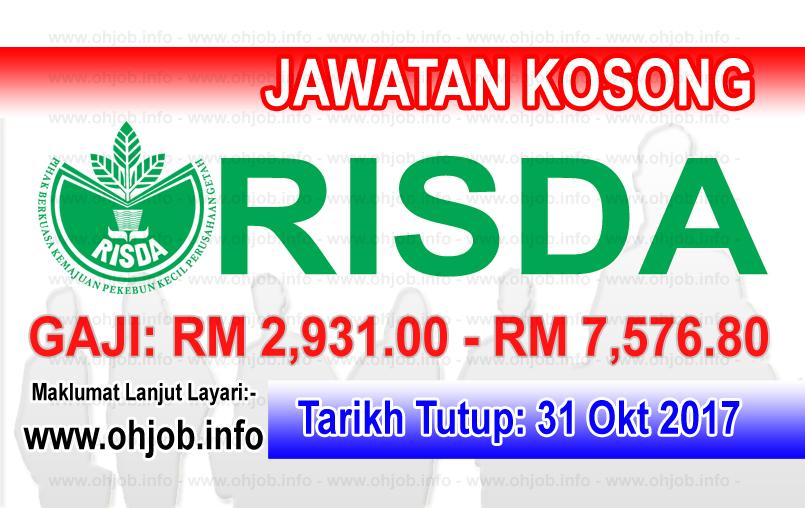 Jawatan Kerja Kosong RISDA logo www.ohjob.info oktober 2017
