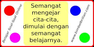 Latihan Soal Online UAS / UKK Bahasa Indonesia  Kelas 4 SD Semester 2
