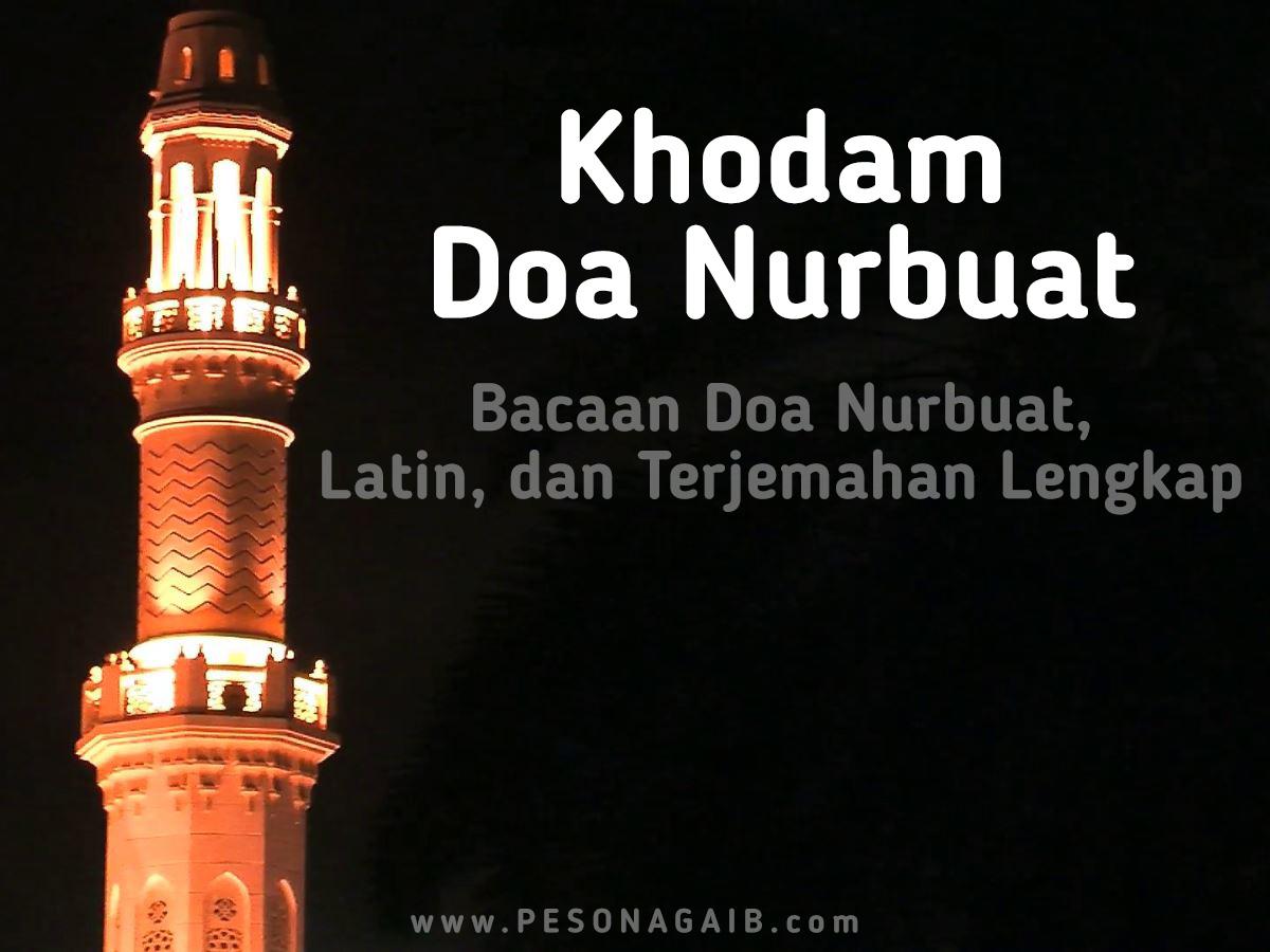 Khodam Doa Nurbuat