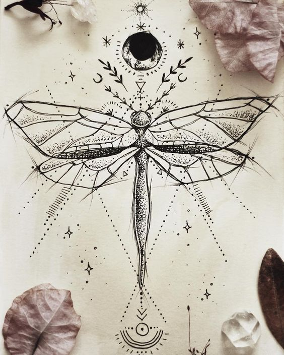 25 Awesome Dragonfly Tattoo Designs