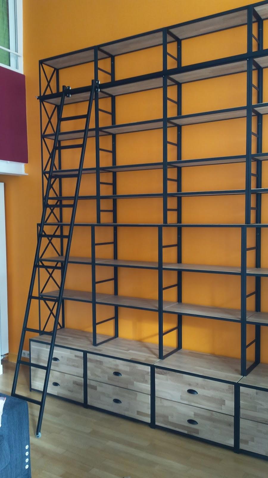 blog de la maison de l 39 imaginarium l 39 ambiance factory 100 sur mesure biblioth que avec. Black Bedroom Furniture Sets. Home Design Ideas