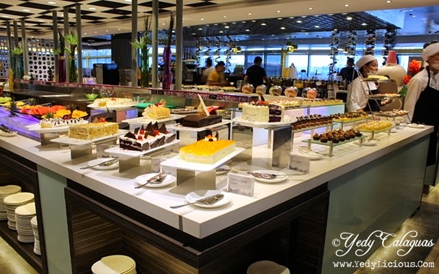 Dessert Station at Vikings Buffet SM Megamall