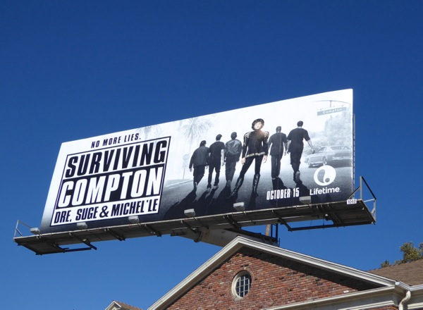Surviving Compton movie billboard