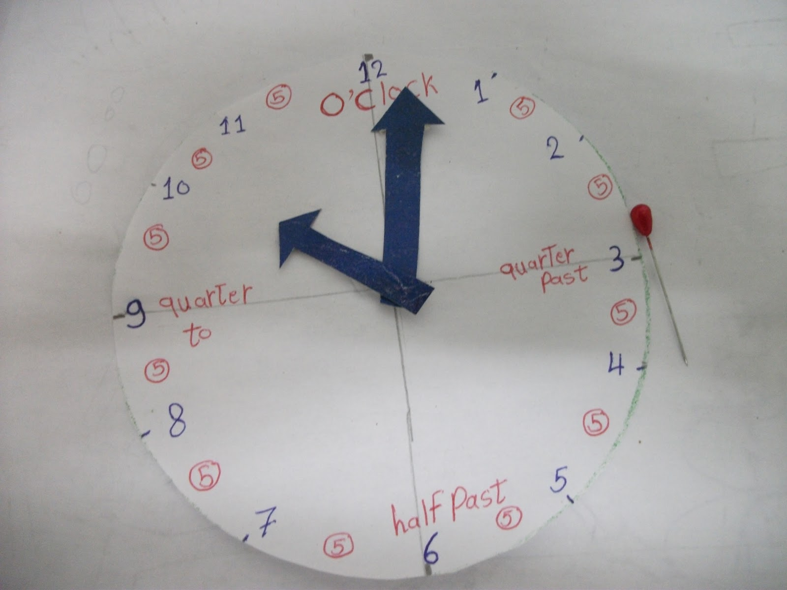 تعليم الساعة للأطفال بكل سهولة بالصور والفيديو هائل وبسيط