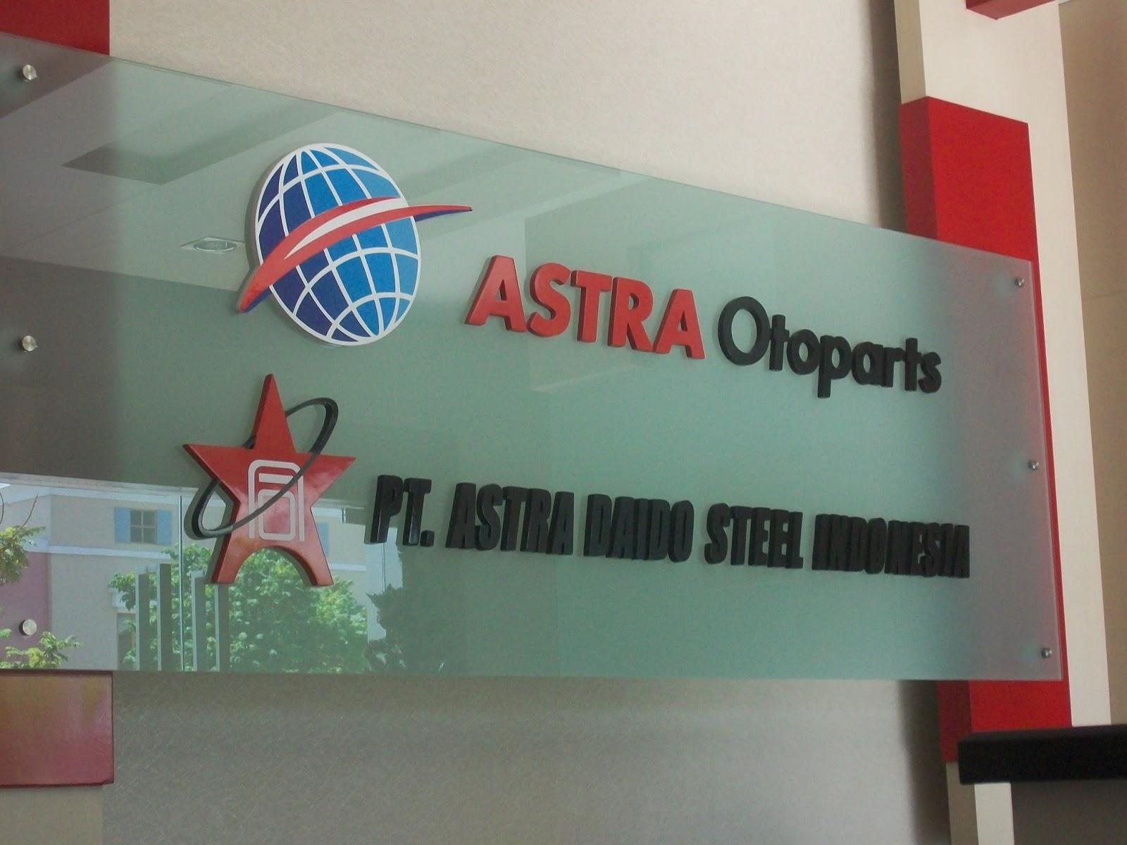 Lowongan Kerja Astra Group Info Terbaru PT. Astra Daido Steel Indonesia
