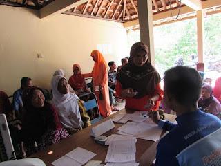 Pelayanan kesehatan oleh relawan DPU DT Jogja