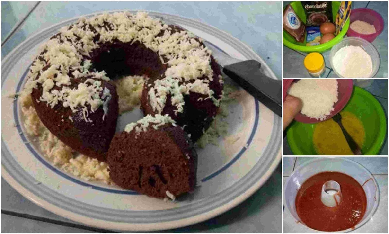 Resep Membuat Brownies Kukus Chocolatos Super Enak Bikin